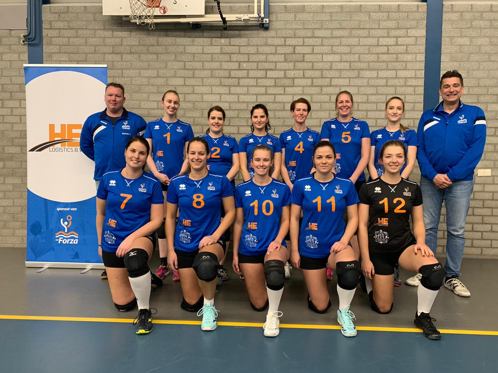 Forza schouwen-duiveland dames 1 2019-2020 volleybal