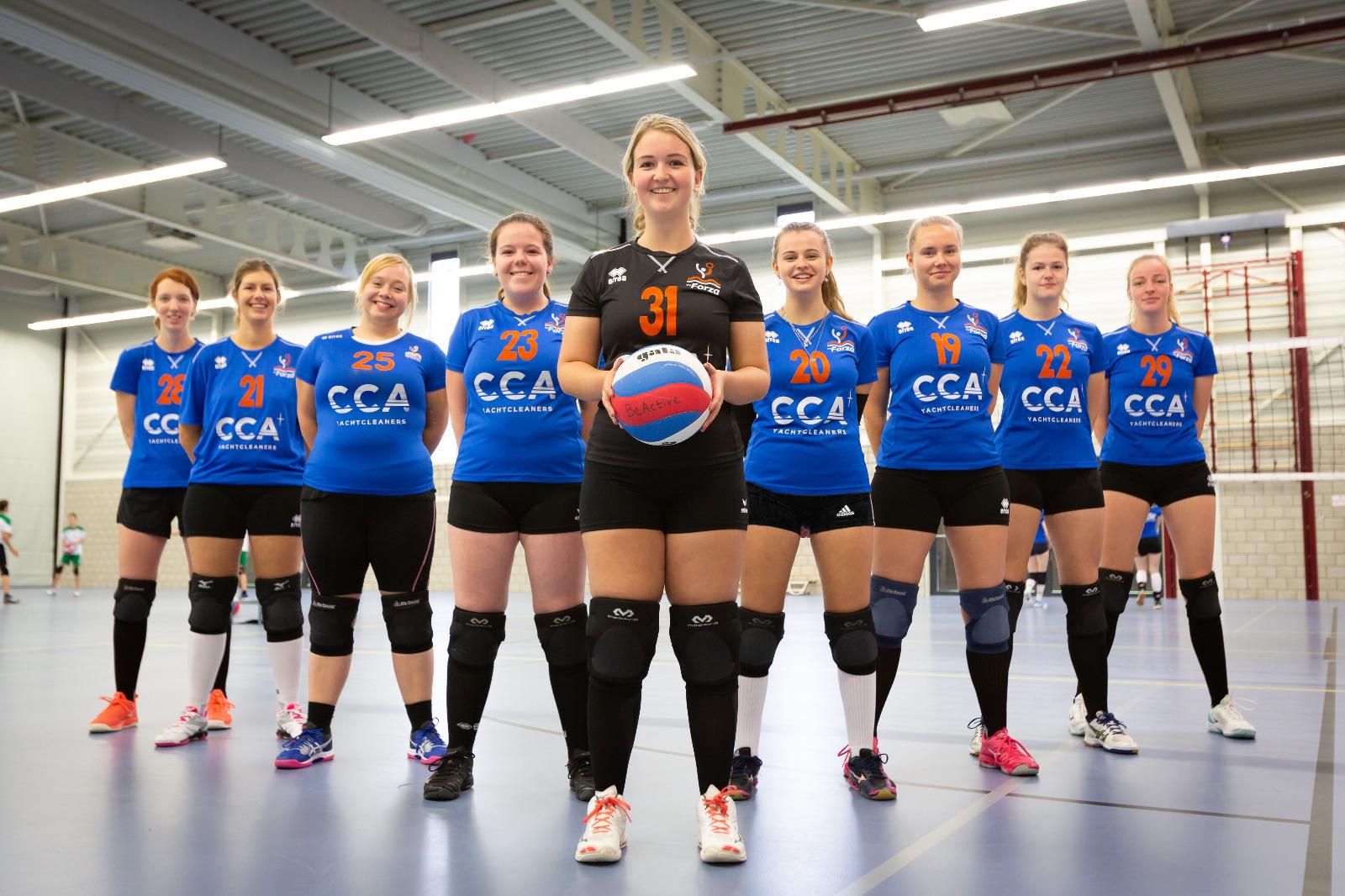 Volleybalvereniging Forza Schouwen Duiveland Dames 2
