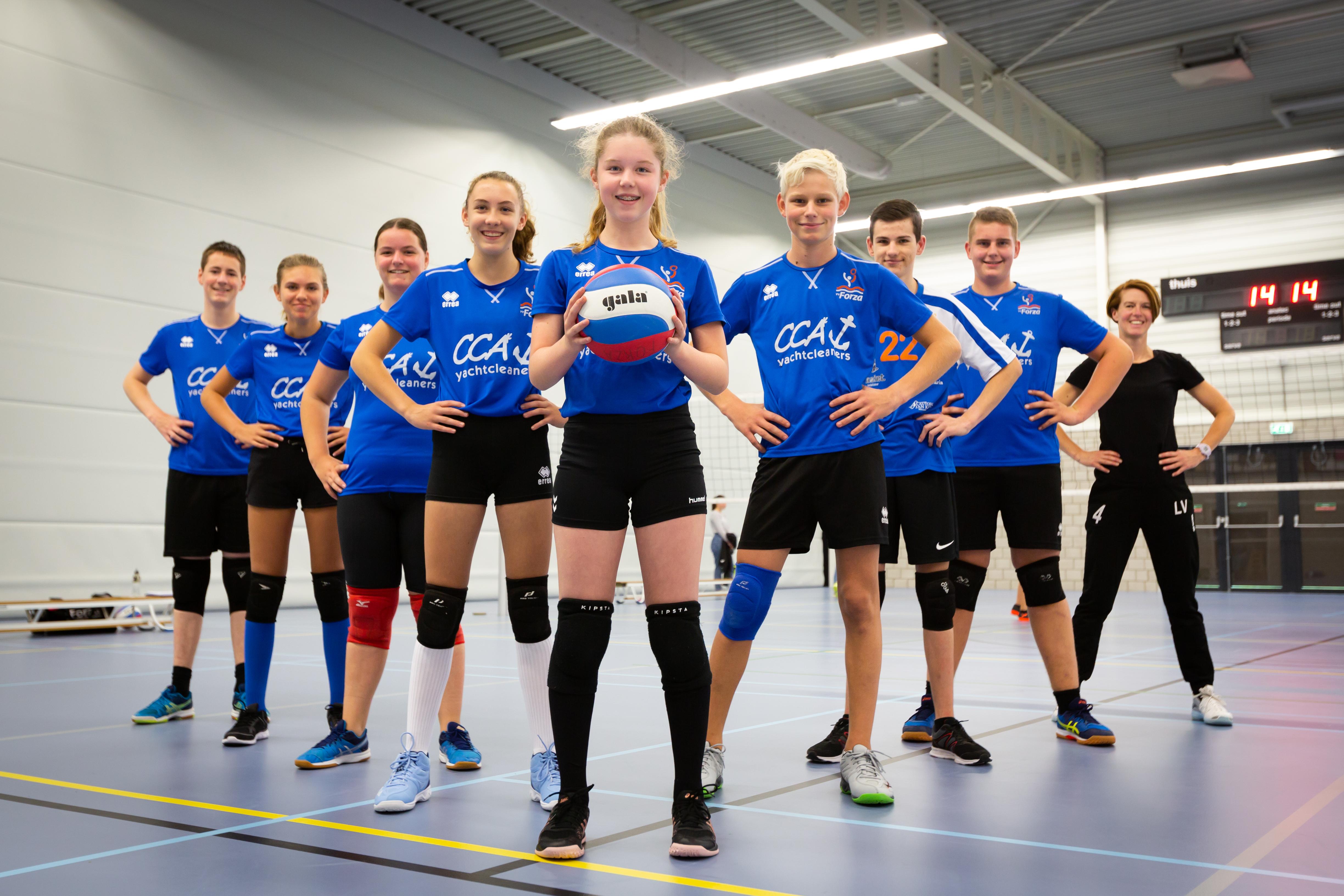 Volleybalvereniging Forza Schouwen Duiveland Jongens B1
