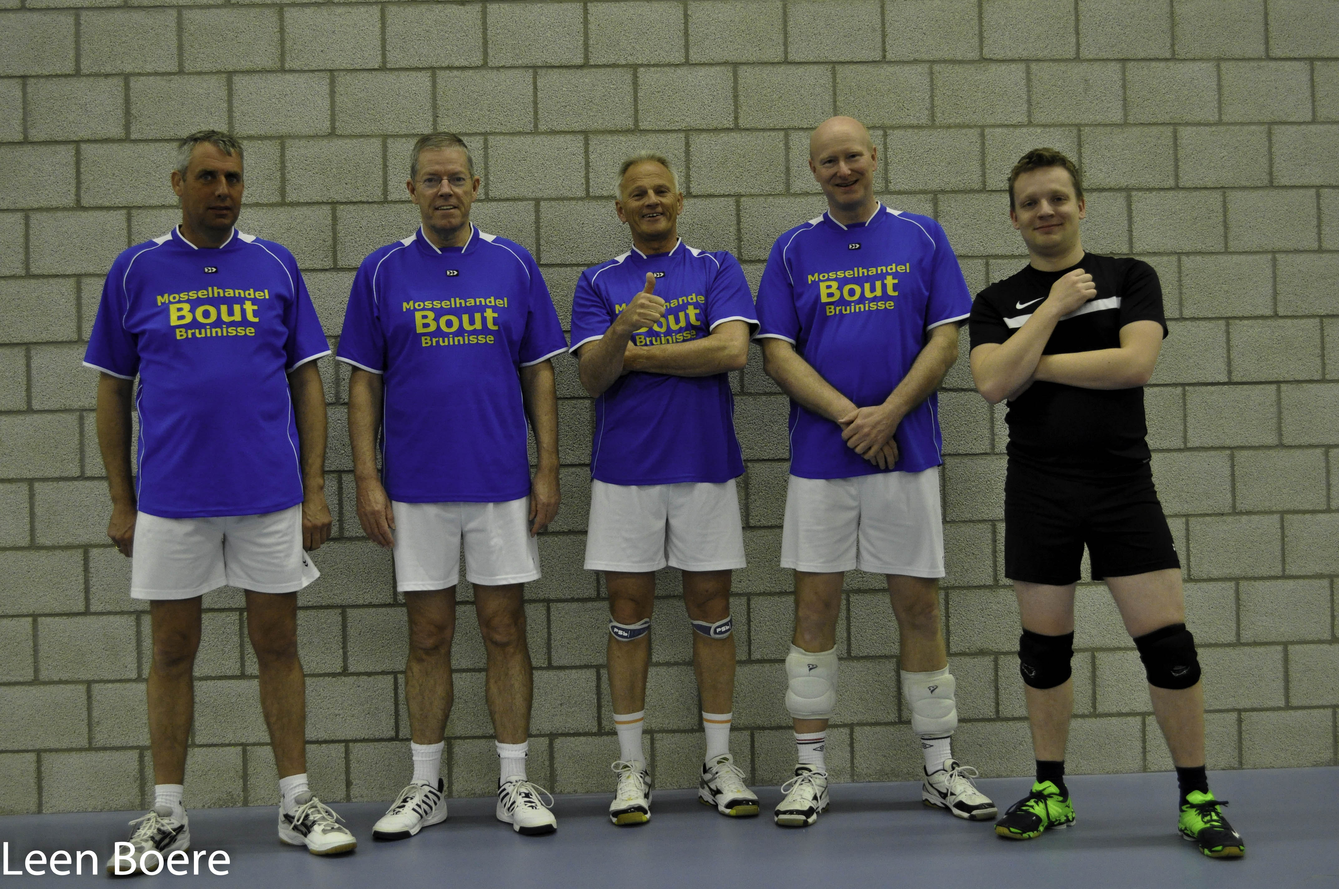 Mosselhandel Bout forza volleybal