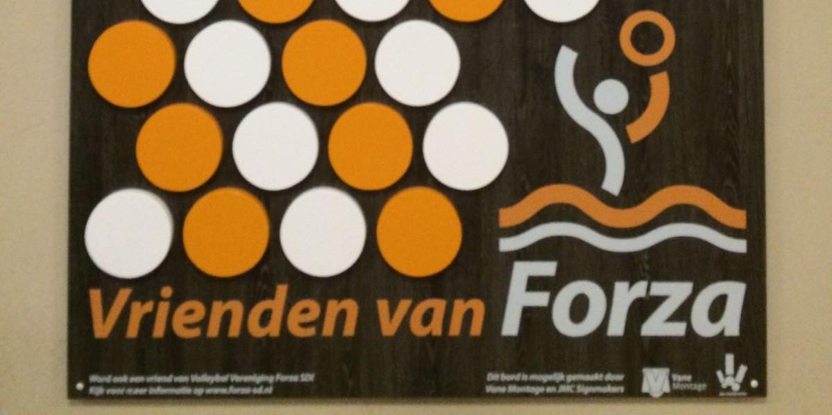 sponsoring vrienden van forza